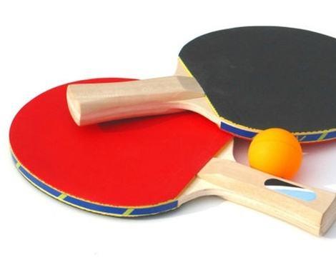 张x科签名乒乓球拍